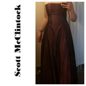 Scott McClintock, Free Shipping Prom Dress, Size 2